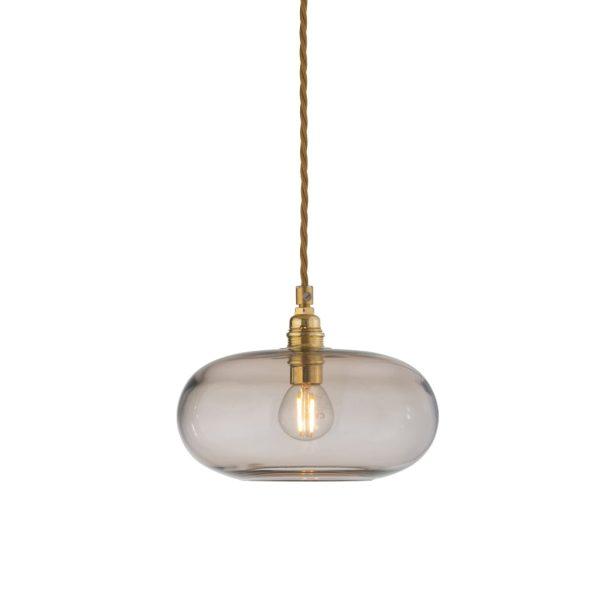 Horizon Pendant Lamp, Chestnut Brown, 21cm