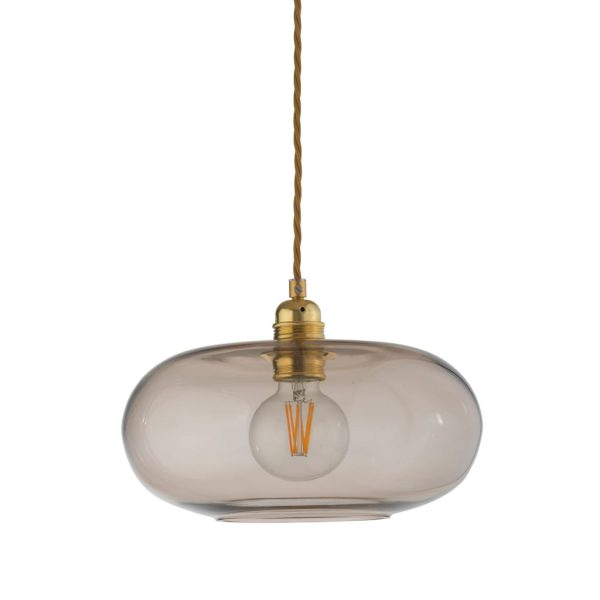Horizon Pendant Lamp, Chestnut Brown, 29cm