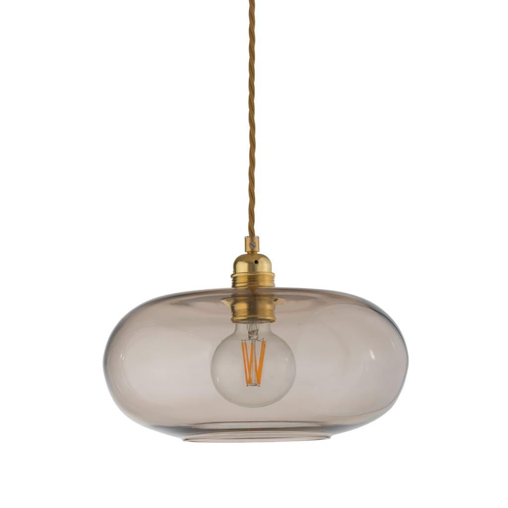 Horizon Pendant Lamp, Chestnut Brown, 29cm