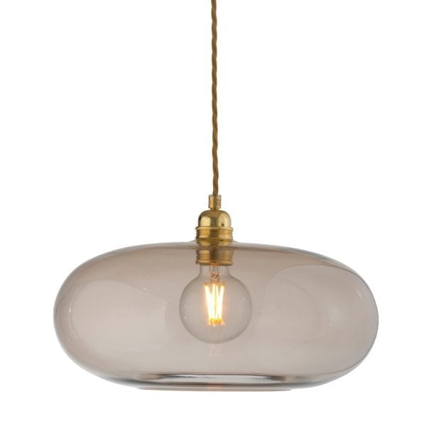 Horizon Pendant Lamp, Chestnut Brown, 36cm