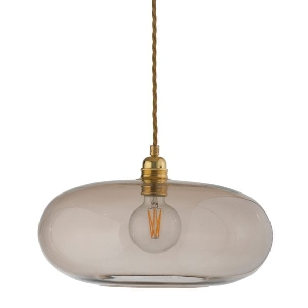 Horizon Pendant Lamp, Chestnut Brown, 36cm