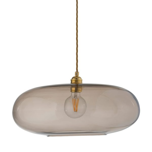 Horizon Pendant Lamp, Chestnut Brown, 45cm