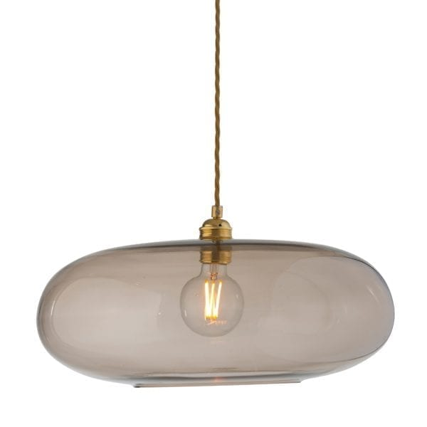 Horizon Pendant Lamp, Chestnut Brown, 45cm