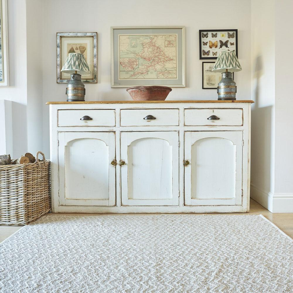 Chinchilla Chenille Rug