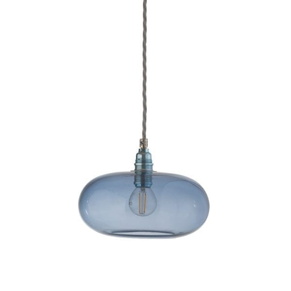 Horizon Pendant Lamp, Deep Blue, 21cm