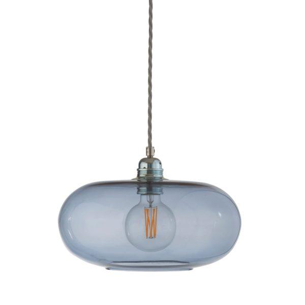 Horizon Pendant Lamp, Deep Blue, 29cm