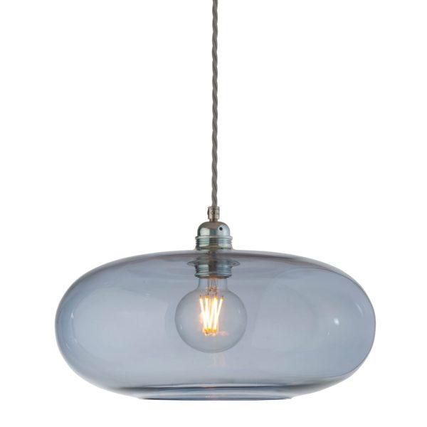 Horizon Pendant Lamp, Deep Blue, 36cm