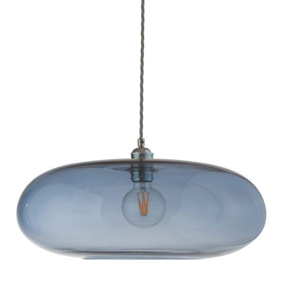 Horizon Pendant Lamp, Deep Blue, 45cm