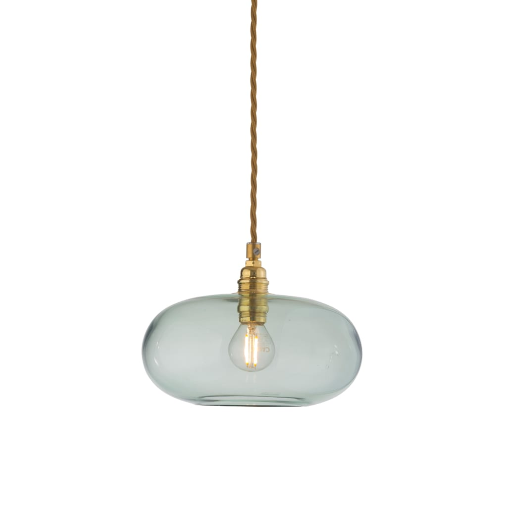 Horizon Pendant Lamp, Forest Green, 21cm