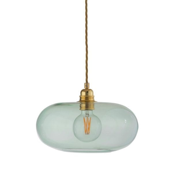 Horizon Pendant Lamp, Forest Green, 29cm