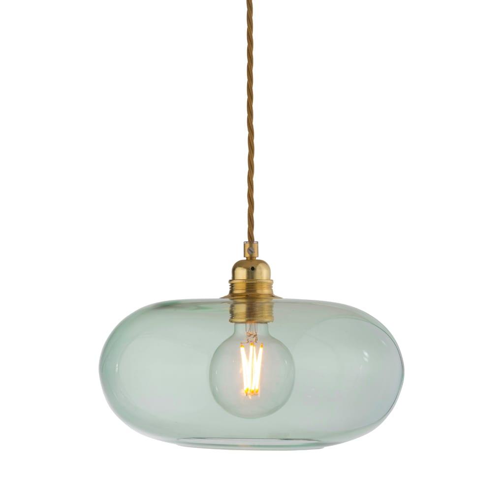 Horizon Pendant Lamp, Forest Green, 29cm