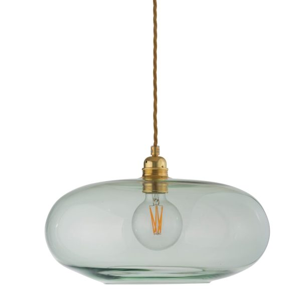 Horizon Pendant Lamp, Forest Green, 36cm