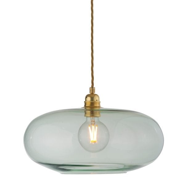Horizon Pendant Lamp, Forest Green, 36cm