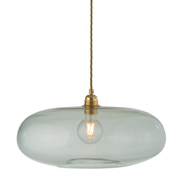Horizon Pendant Lamp, Forest Green, 45cm