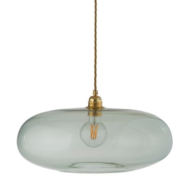 Horizon Pendant Lamp, Forest Green, 45cm