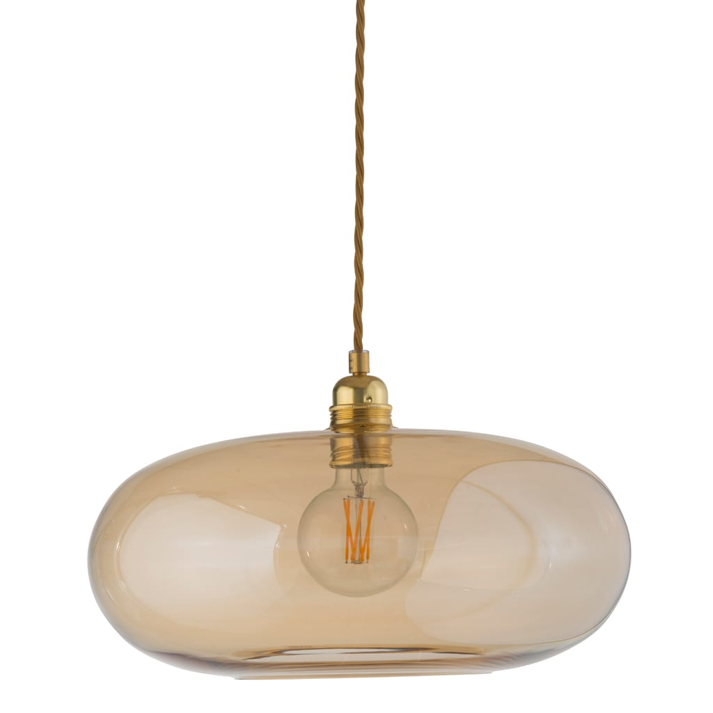 Horizon Pendant Lamp, Golden Smoke, 36cm