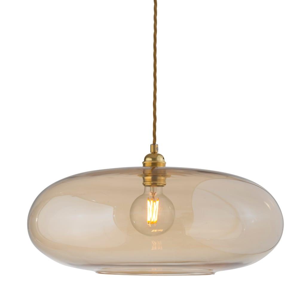 Horizon Pendant Lamp, Golden Smoke, 45cm