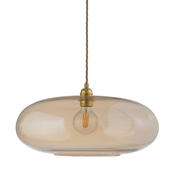 Horizon Pendant Lamp, Golden Smoke, 45cm