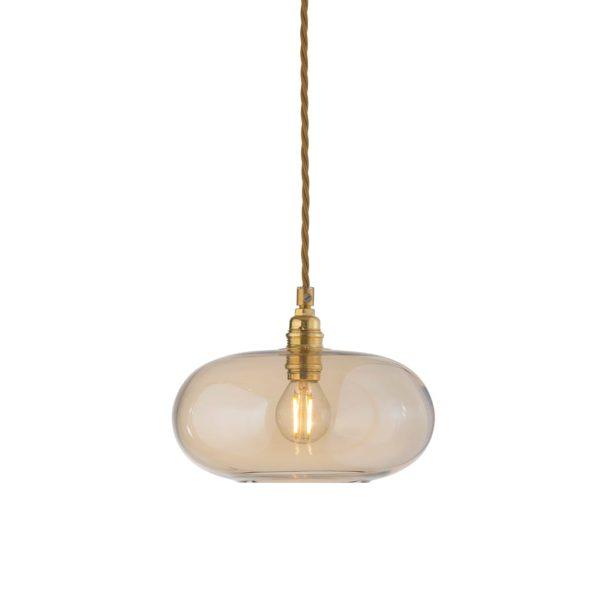 Horizon Pendant Lamp, Golden Smoke, 21cm