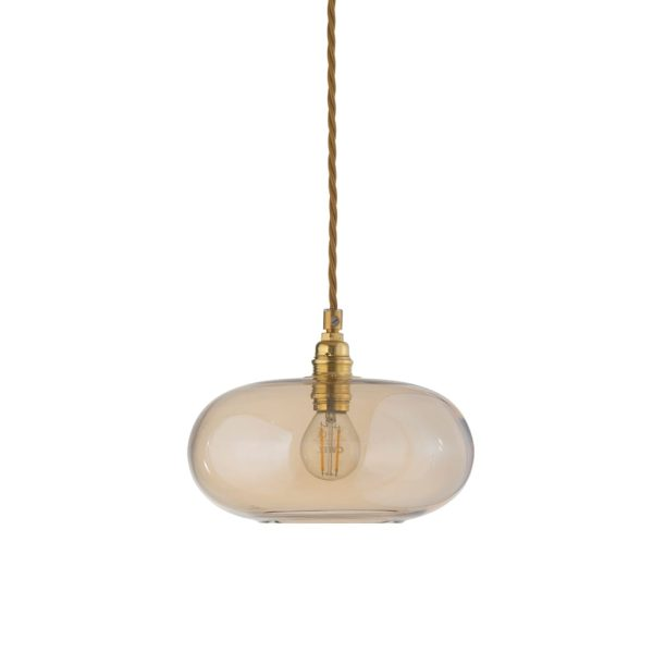 Horizon Pendant Lamp, Golden Smoke, 21cm