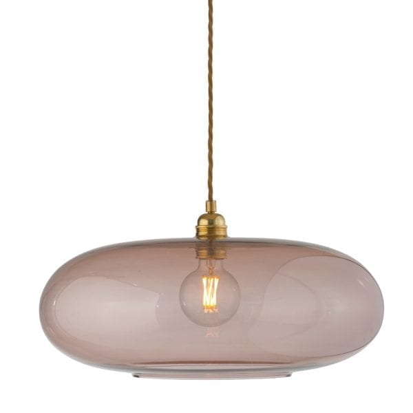 Horizon Pendant Lamp, Obsidian, 45cm