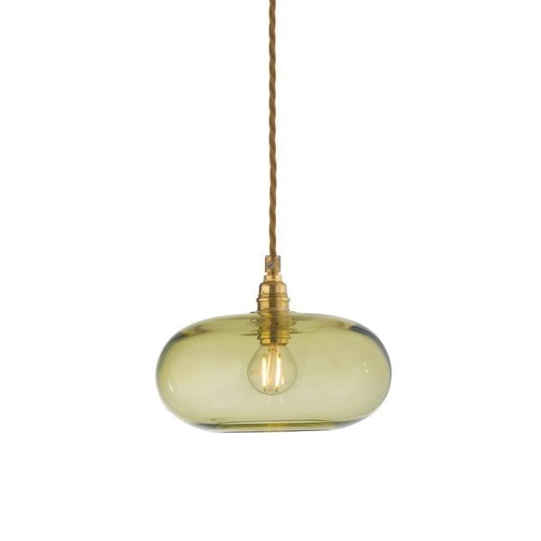 Horizon Pendant Lamp, Olive, 21cm