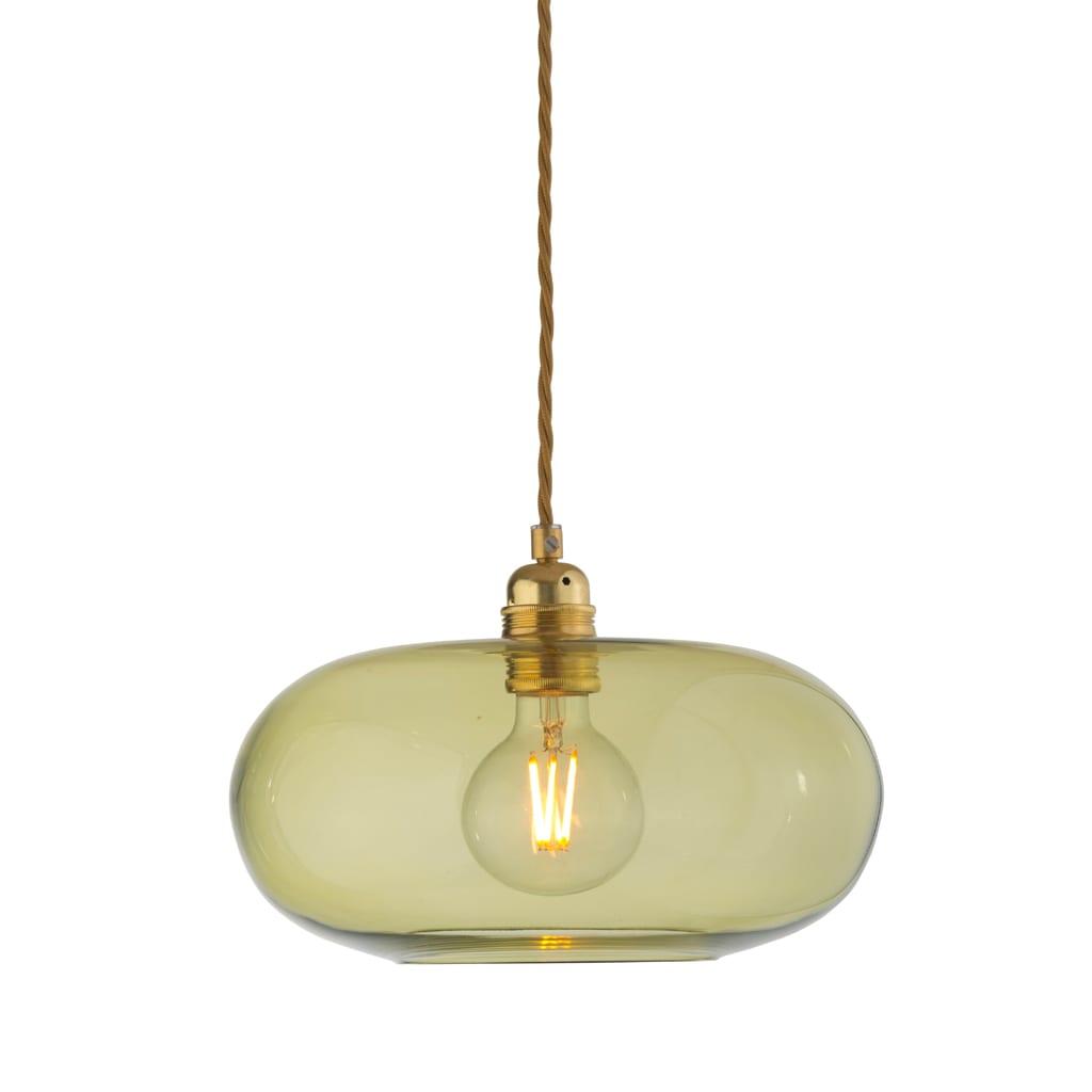 Horizon Pendant Lamp, Olive, 29cm
