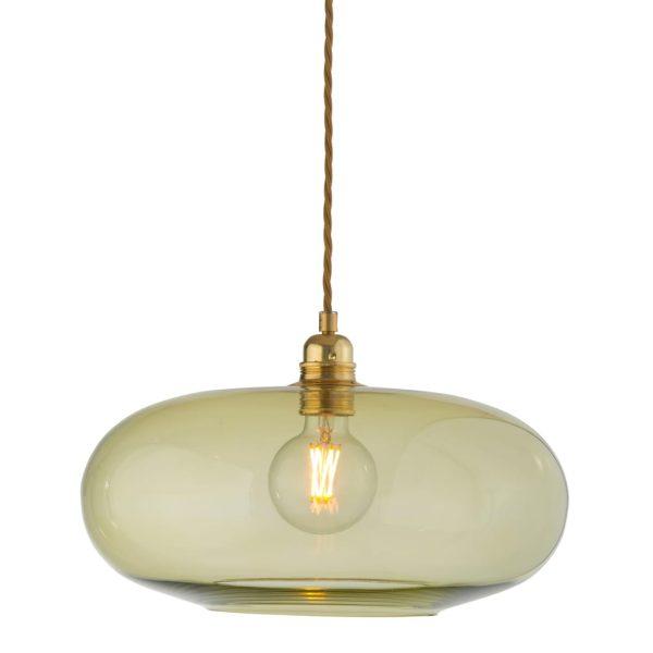 Horizon Pendant Lamp, Olive, 36cm
