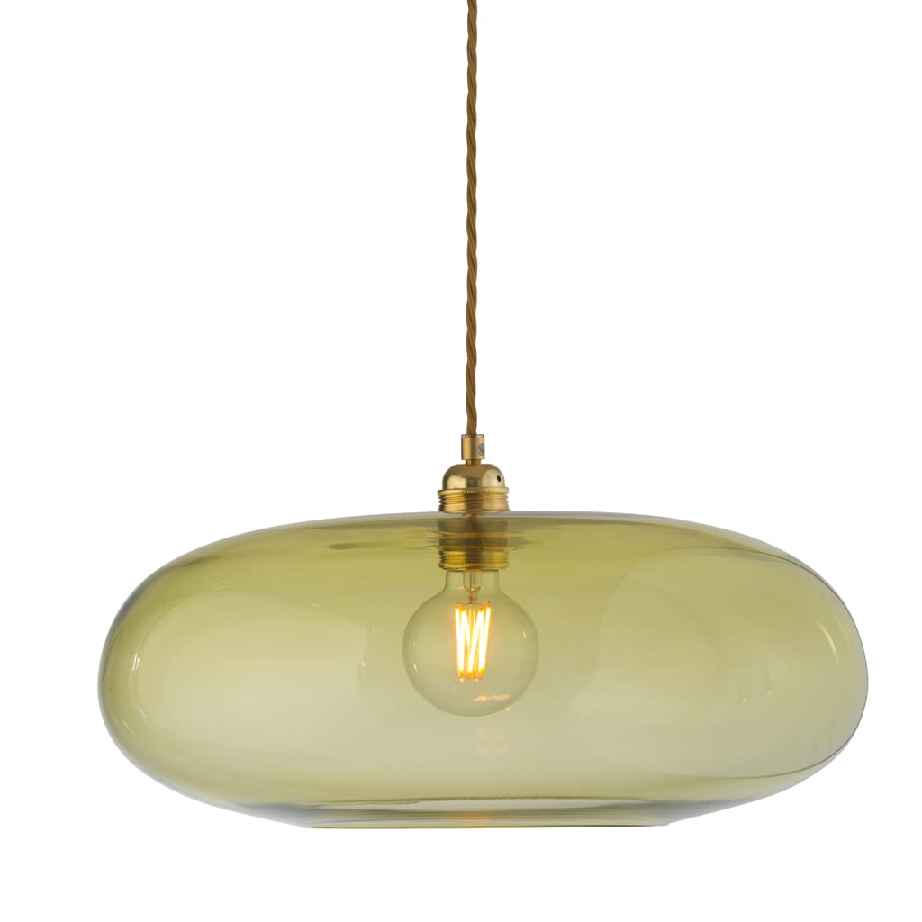 Horizon Pendant Lamp, Olive, 45cm