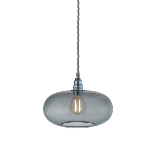 Horizon Pendant Lamp, Smokey Grey, 21cm