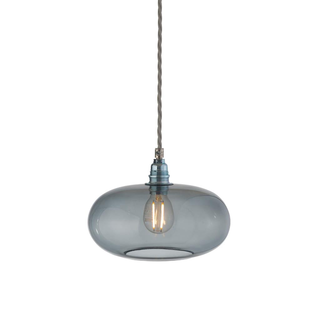 Horizon Pendant Lamp, Smokey Grey, 21cm