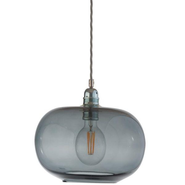Horizon Pendant Lamp, Smokey Grey, 29cm