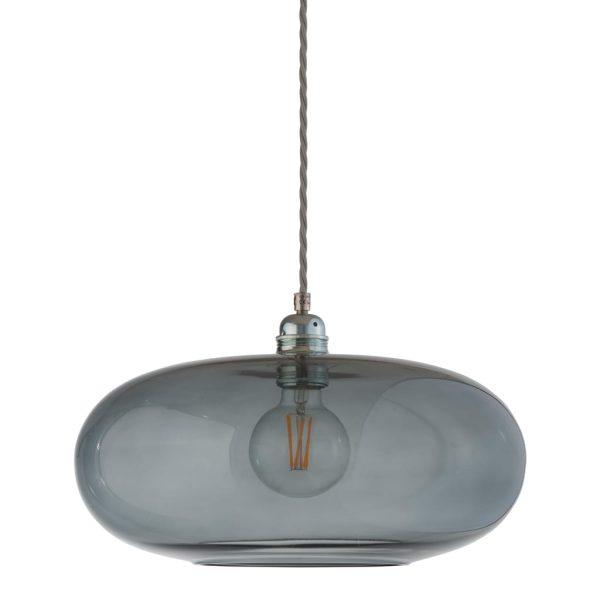 Horizon Pendant Lamp, Smokey Grey, 36cm