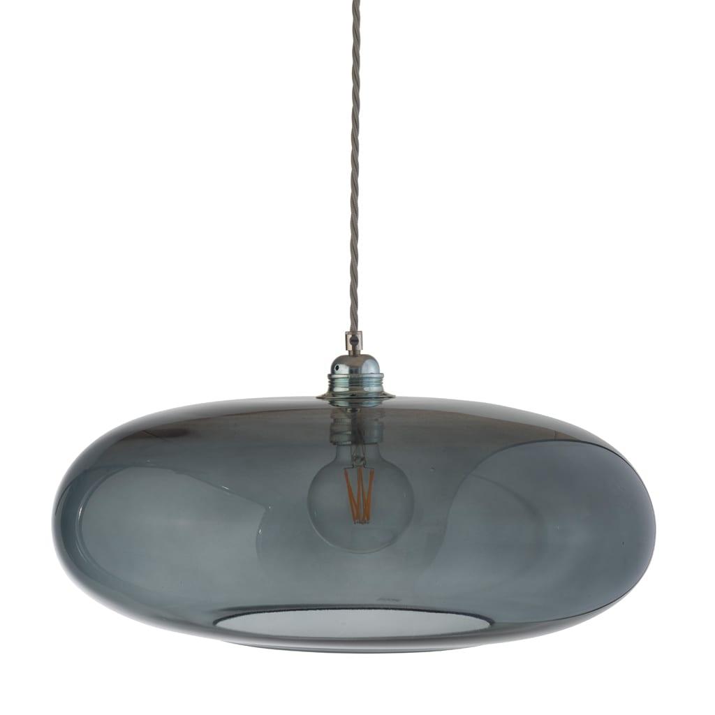 Horizon Pendant Lamp, Smokey Grey, 45cm