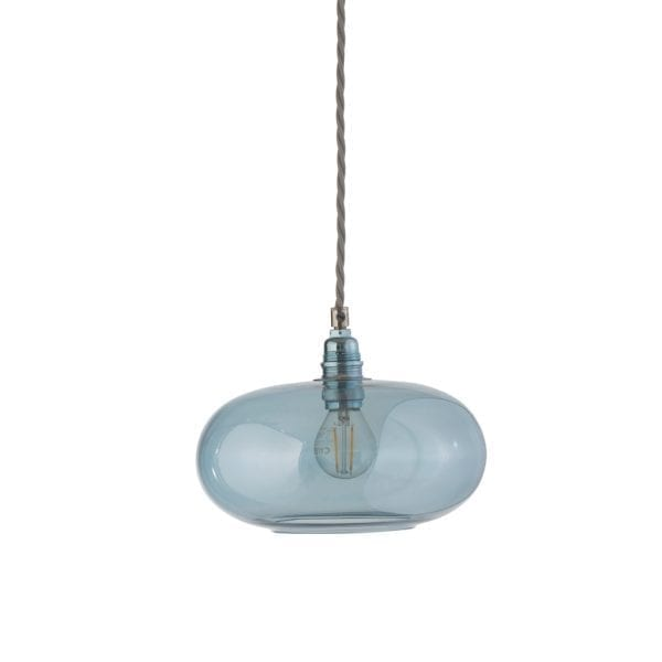 Horizon Pendant Lamp, Topaz Blue, 21cm