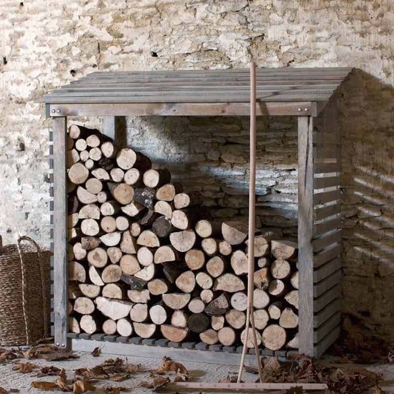 Aldsworth Log Store Wide
