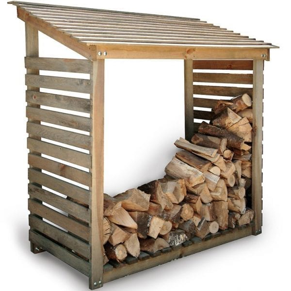 Aldsworth Log Store Wide