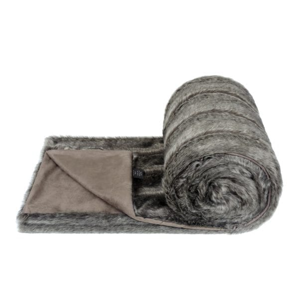 Aspen Faux Fur Bed Runner