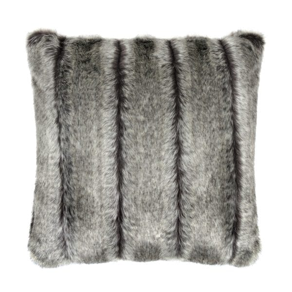 Aspen Faux Fur Square Cushion