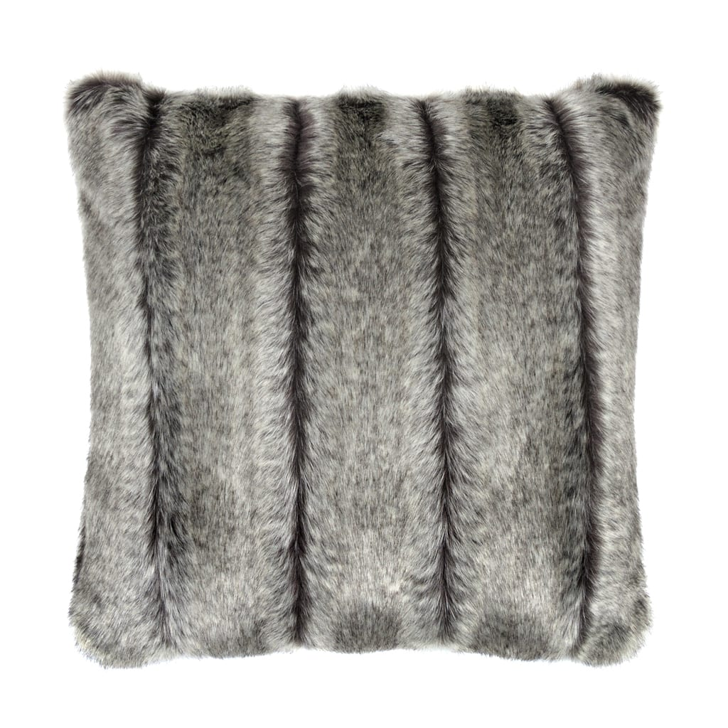Aspen Faux Fur Square Cushion