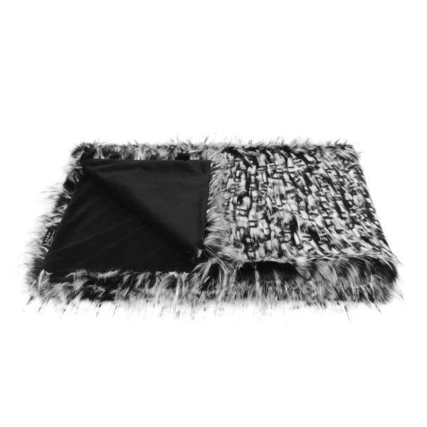 Domino Faux Fur Comforter