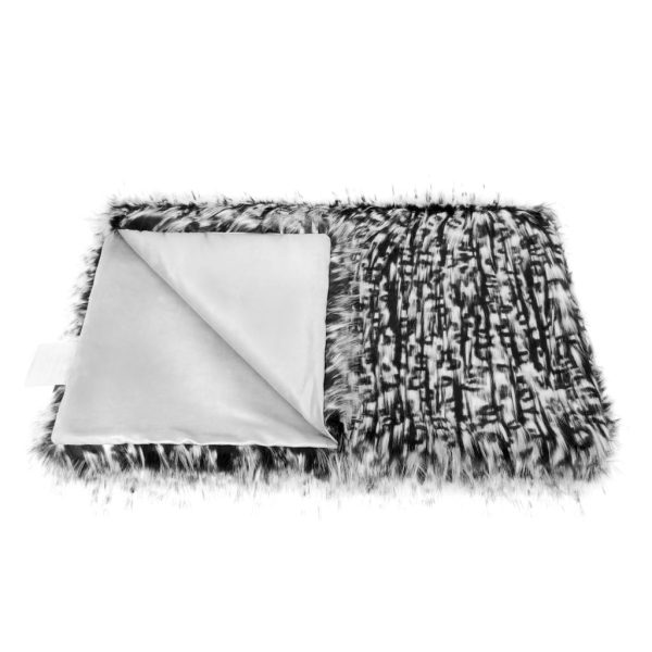 Domino Faux Fur Throw