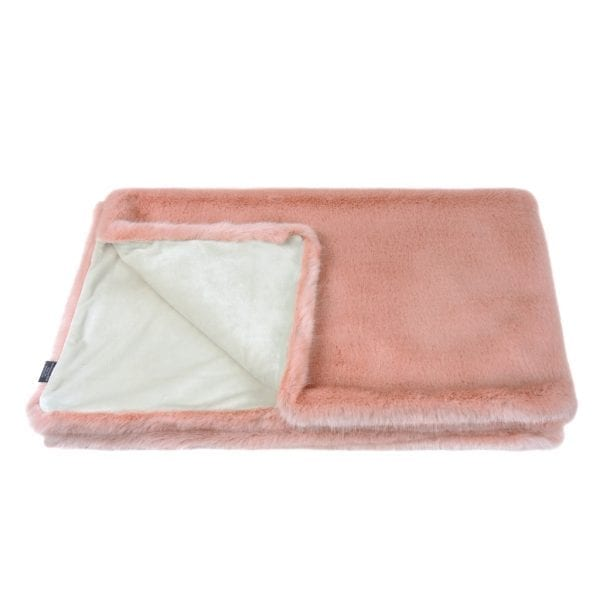 Dusky Faux Fur Comforter
