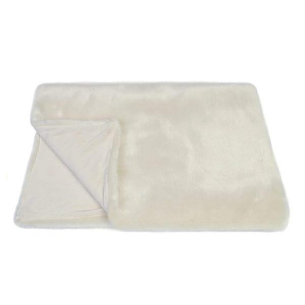 Ermine Faux Fur Comforter