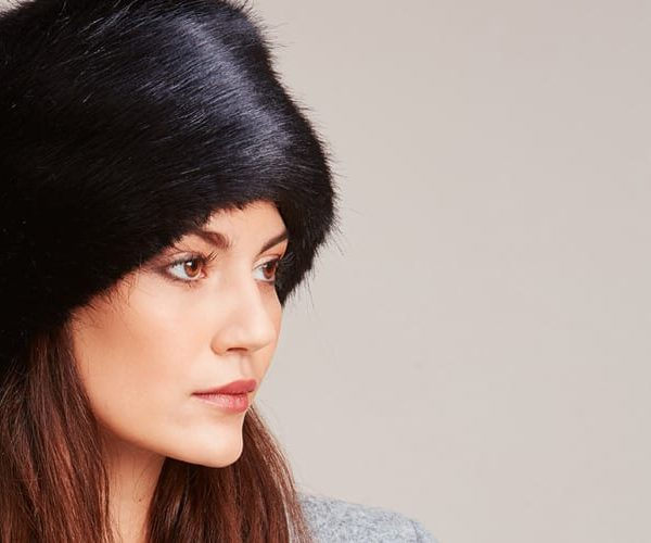 Faux Fur Box Hats
