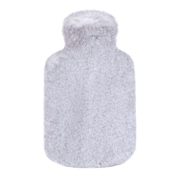 Frost Cloud Faux Fur Hot Water Bottle