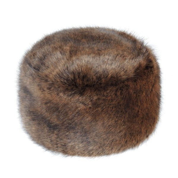 Golden Bear Faux Fur Box Hat