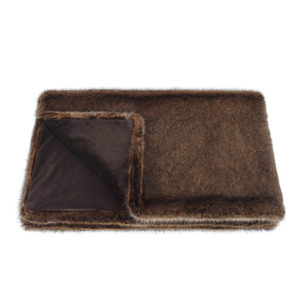 Golden Bear Faux Fur Comforter