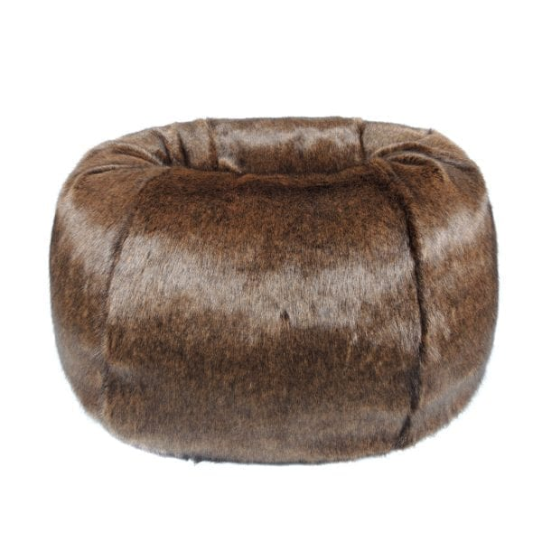 Golden Bear Faux Fur Giant Beanbag