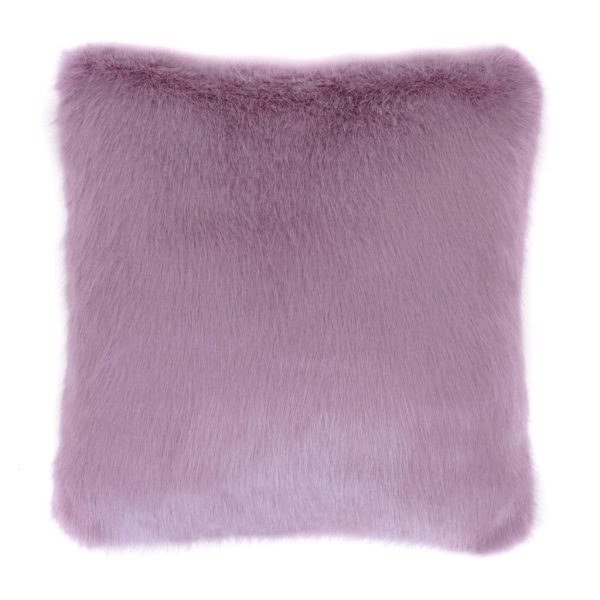 Heather Faux Fur Square Cushion